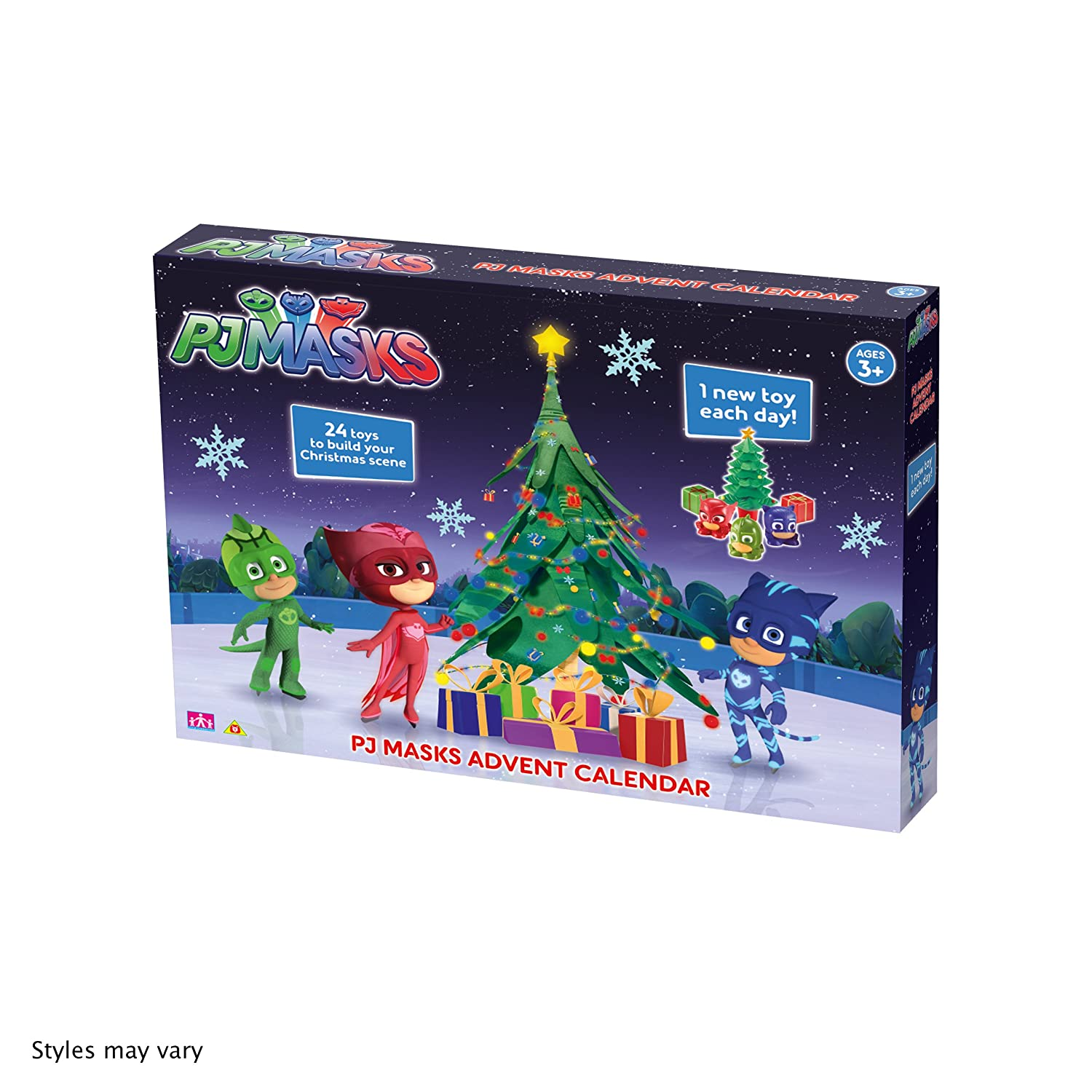 PJ Masks Advent Calendar Character Options 06857
