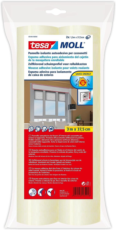 Tesa 05440-00000-00 Espuma Aislante Cajetín de Persiana 37.5 cm X 150: Amazon.es: Bricolaje y herramientas