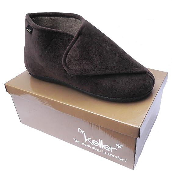 Zapatos negros con velcro Intermax para hombre mohuV5Oiu