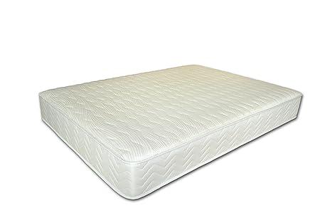 Airsprung Revivo - Lujo Bolsillo colchón de Memoria, De Punto, Blanco, Matrimonio Reino Unido (150 x 200 cm): Amazon.es: Hogar