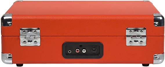 Crosley - Tocadiscos Crosley Portátil Deluxe BT Naranja