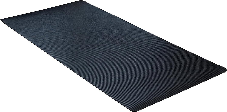 """ClimaTex 9G-018-36C-20 Scraper, 36x20 Floor mat, 36"""" x 20', Black"""