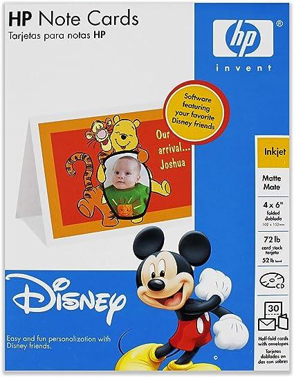 Amazon Com 30 Blank Disney Greeting Cards Toys Games