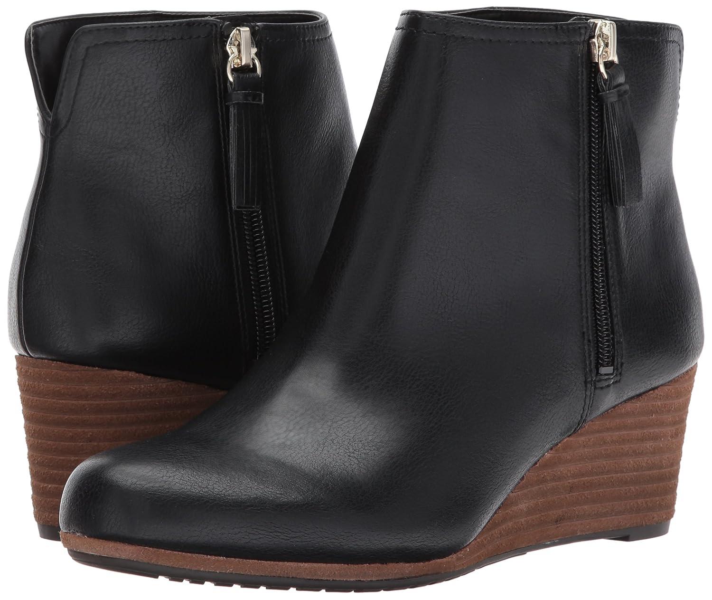 Dr. Scholl's Shoes Women's Dwell Boot B06Y4H2LJ1 6.5 B(M) US|Black Tumbled