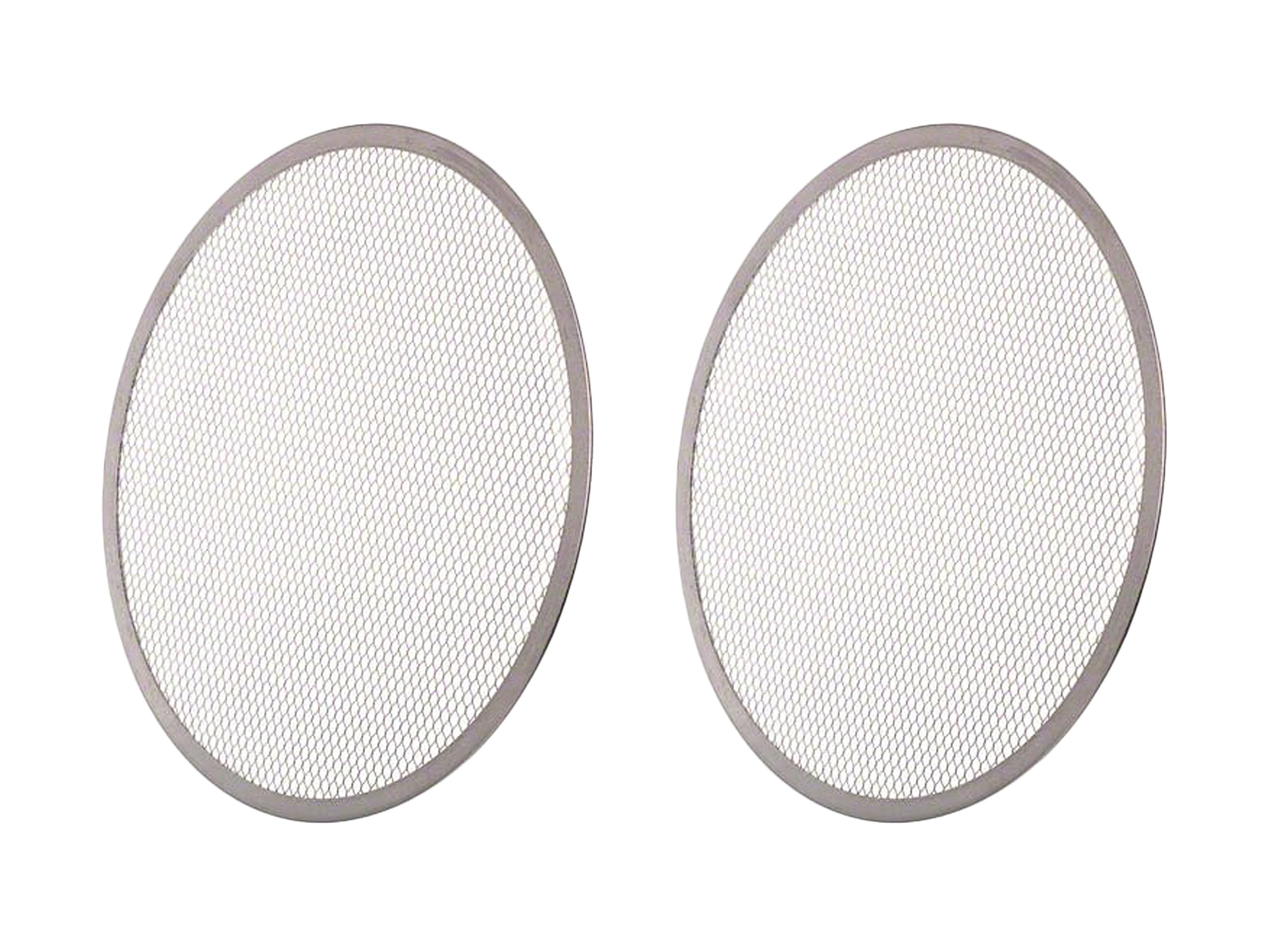 Set of 2 Update International (PS-14) 14'' Pizza Screen bundled by Maven Gifts