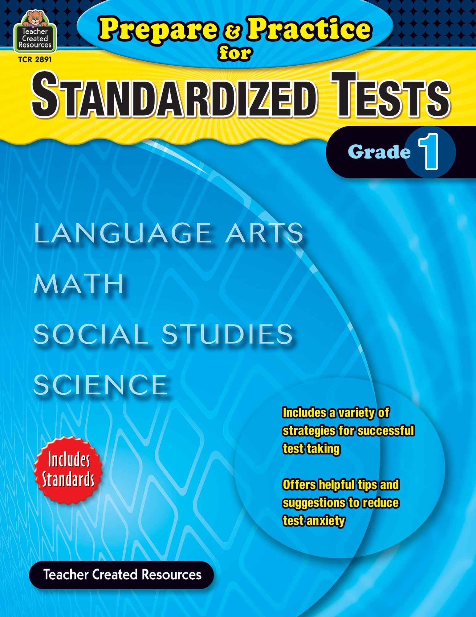 Prepare & Practice for Standardized Tests Grade 1 (Prepare and Practice for Standardized Tests) by Teacher Created Resources