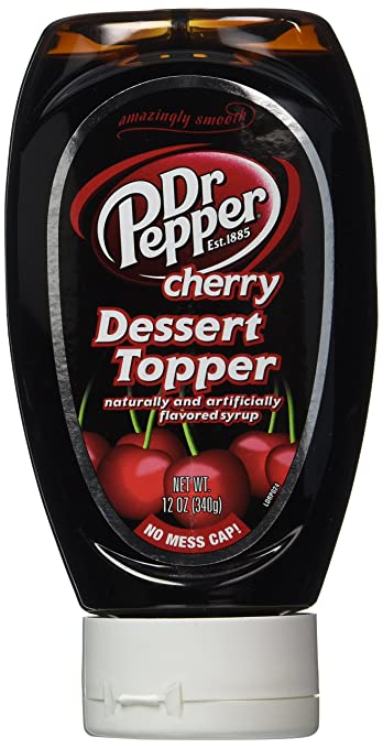 Dr. Pepper Dessert Topping 12 Oz Bottle