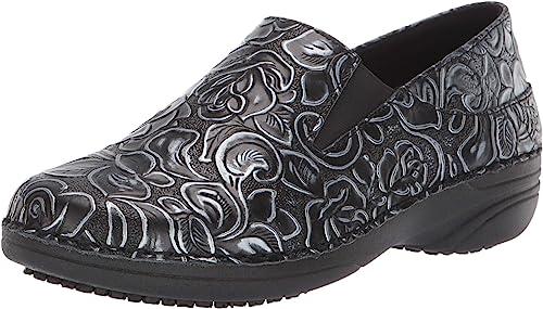 7.5 Wide US Black Multi Spring Step Professional Womens Winfrey-Flutter Uniform  Dress Shoe Uniform Dress Shoes