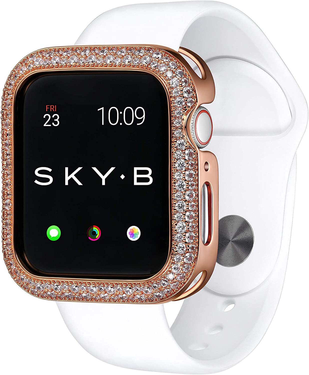 SKYB Soda Pop Rose Gold Protective Jewelry Case for Apple Watch Series 1, 2, 3, 4, 5 Devices - 44mm