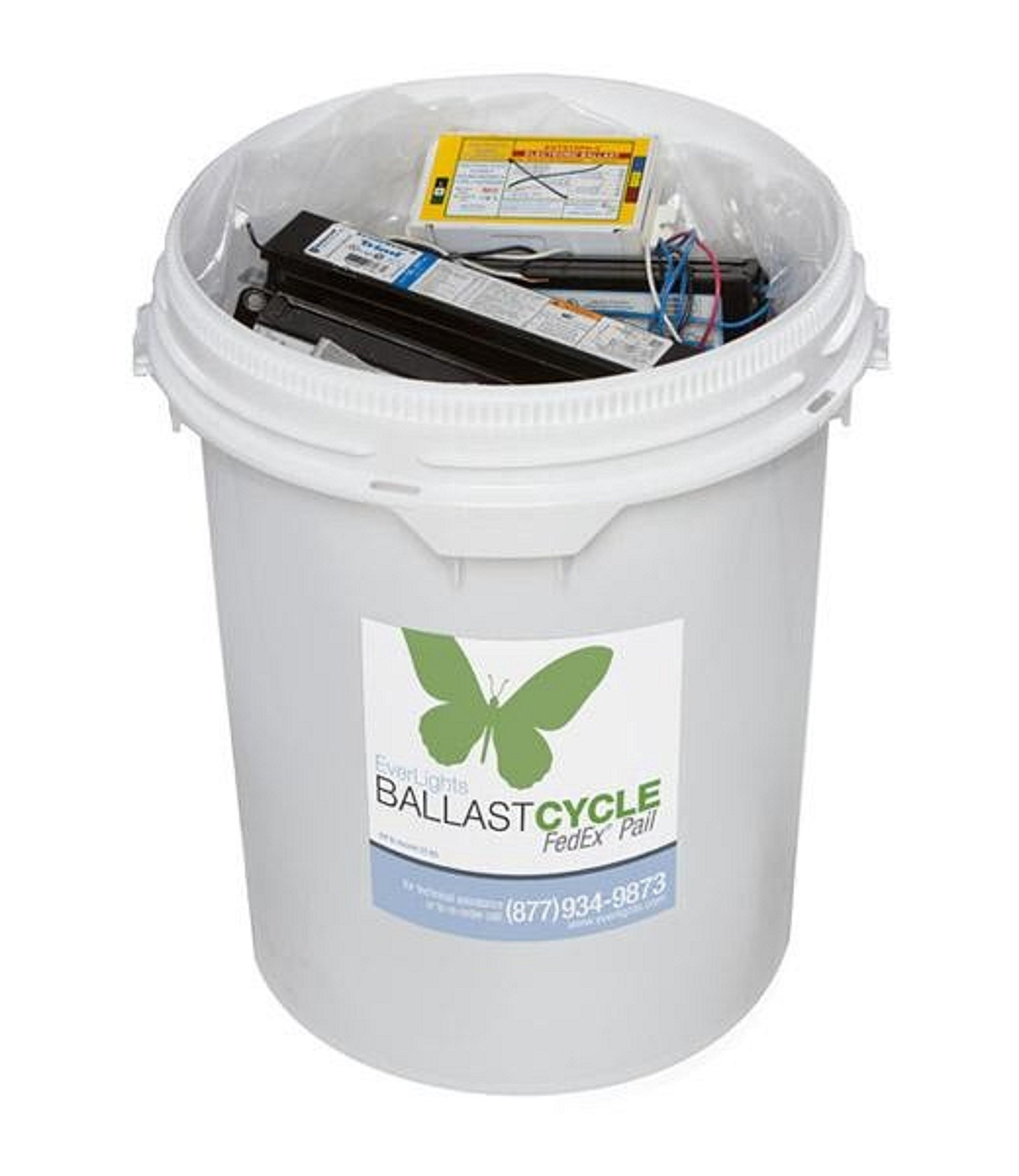 EverLights RBALPAIL Ballast Cycle Recycling Kit, Medium