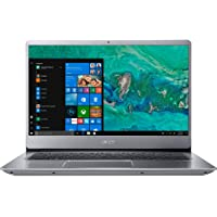 "Acer Swift 3 SF314-56G-54P0 Ultrabook Laptop, Intel® Core™ i5-8265U, 14"" FHD Inch, 128GB SDD+ 1TB HDD, 8GB RAM, NVIDIA® GeForce® MX150, Win10 Home, Eng-AraKB, Sparkly Silver"