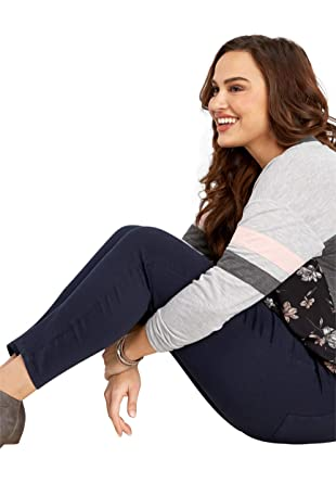 4cb8cdcdaf3 maurices Women's Plus Size Denimflex TM Andalusia Night Jegging 24  Andalusia Night at Amazon Women's Clothing store: