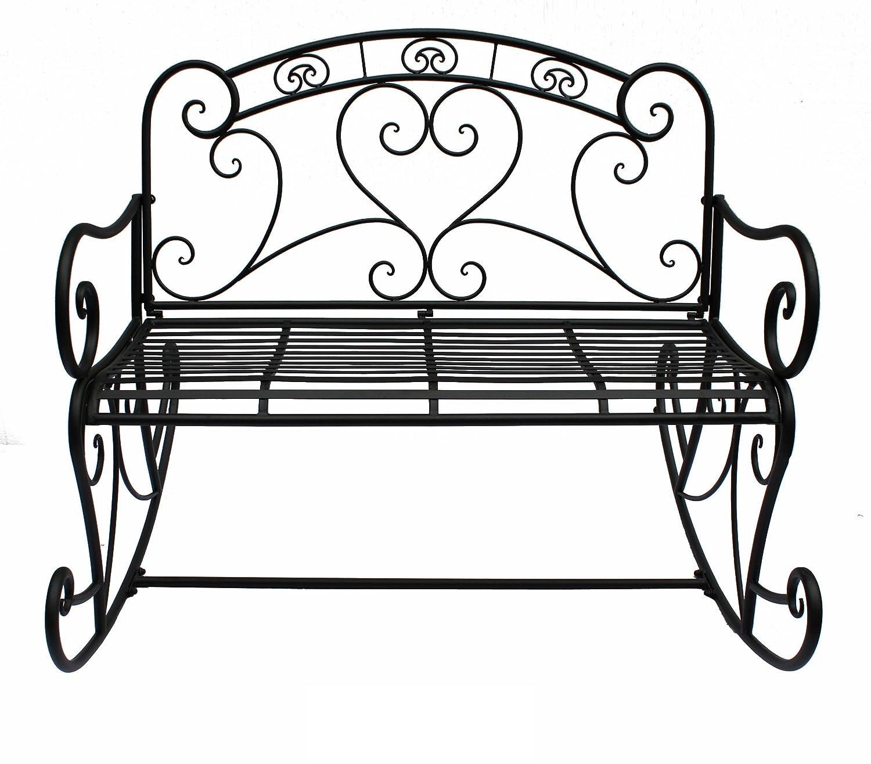81yaKiabdrL._SL1500_ Beste Gartenbank Metall Nostalgie Design-ideen