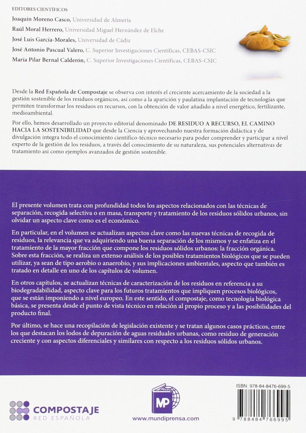 Residuos urbanos I.4 (Medio Ambiente): Amazon.es: RED ESPAÑOLA DE ...