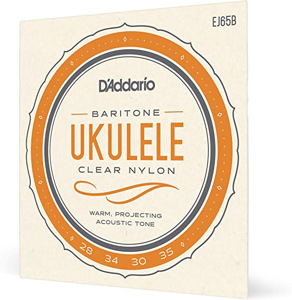 D'Addario EJ65B Pro-Arté Custom Extruded Nylon Ukulele Strings