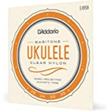 D'Addario EJ65B Pro-Arte Custom Extruded Nylon Ukulele Strings, Baritone