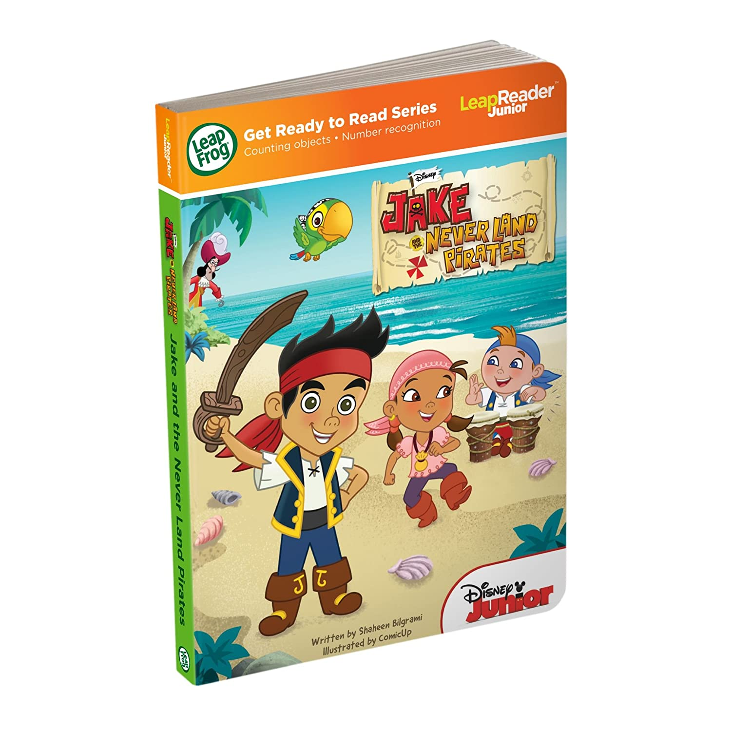 Pirates Regular Article Of Neverland And Jake: Leapfrog Tag Junior Book: Jake And The Never Land Pirates Tag Junior Book (Japan Import) LEAPFROG ENTERPRISES 80-21208E