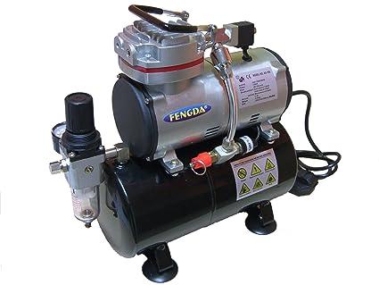 Hobby compresor con tanque de aire Fengda® AS-189