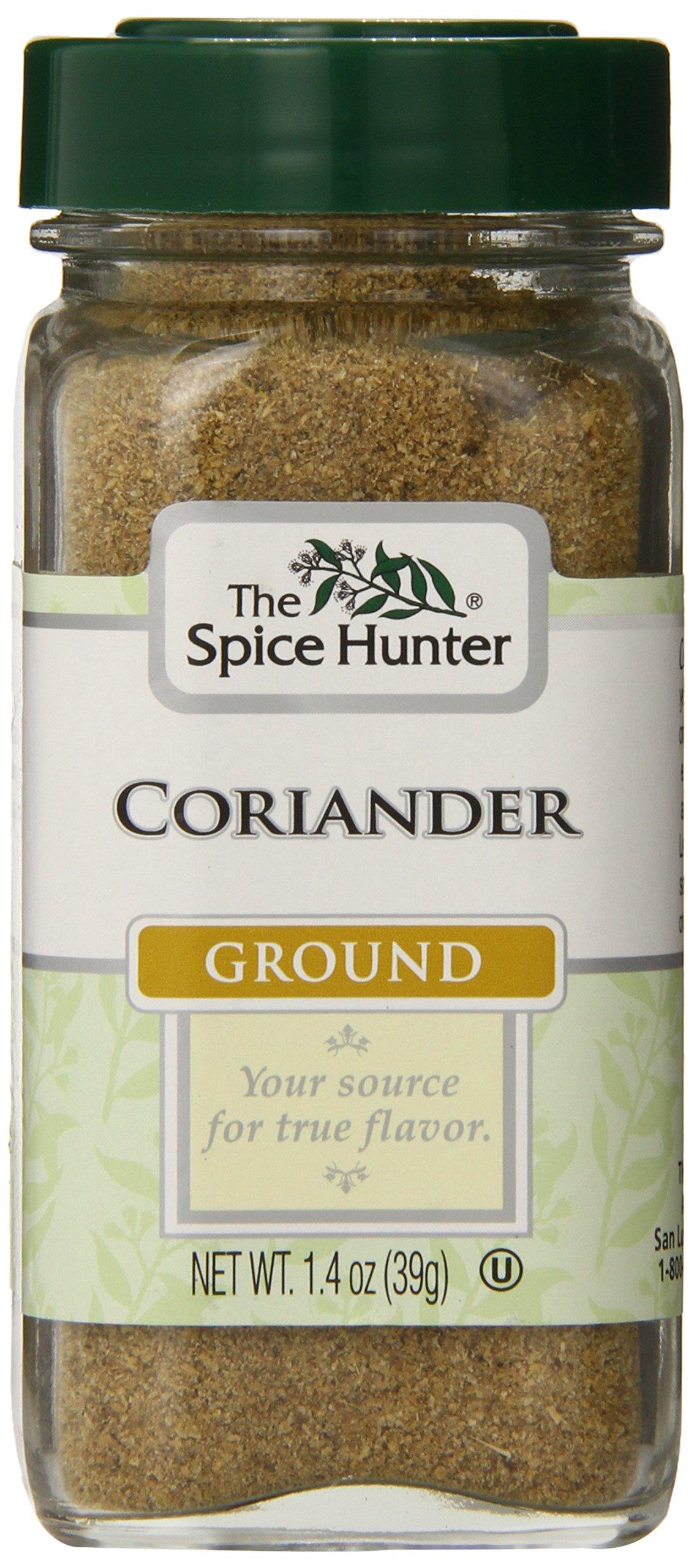 The Spice Hunter Coriander, Moroccan, Ground, 1.4-Ounce Jar
