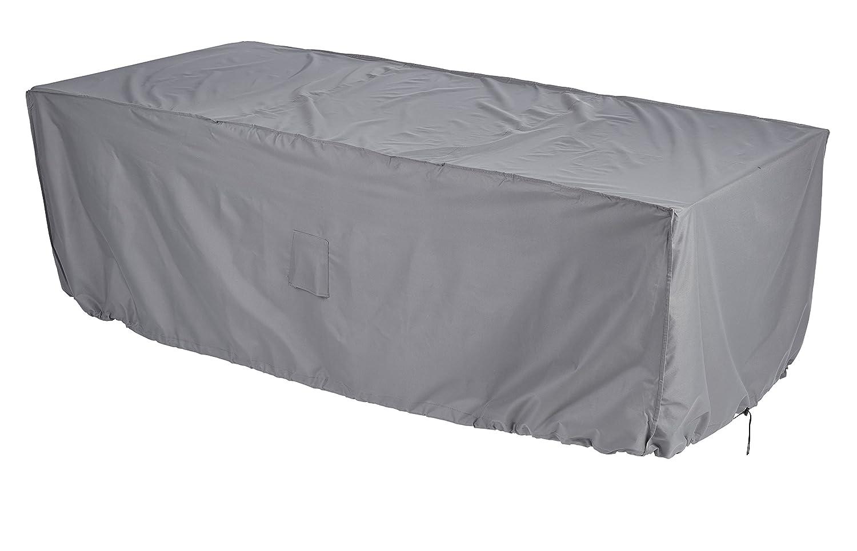 Gardman 35920-6-8 Seater Rectangular cover Patio Set Cover, Grey, 28 x 14 x 22 cm