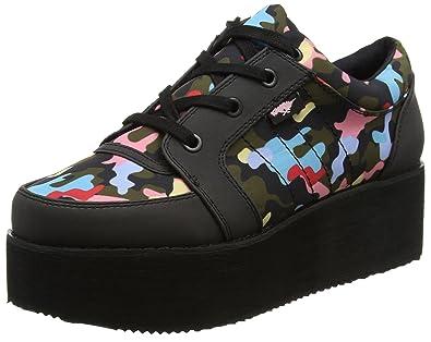 Rocket Dog Damen Reagle Sneaker, Schwarz (Black Black), 39 EU