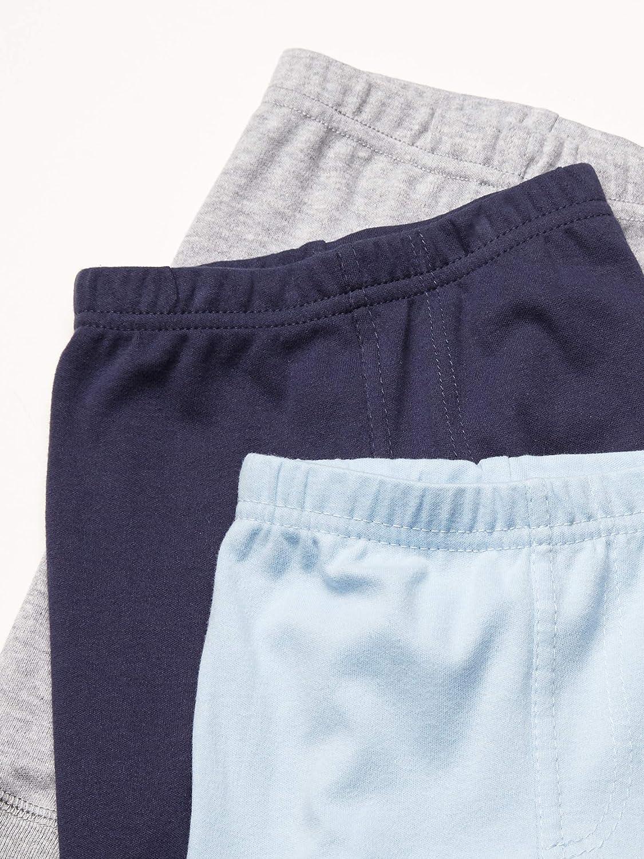 9-12 Months Luvable Friends Unisex Baby Cotton Pants Blue Gray