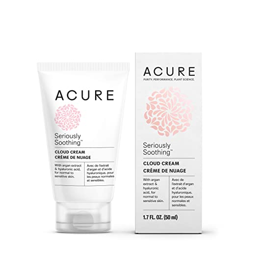 Acure Organics Seriously Soothing Cloud Cream 1.7 Fluid Ounce