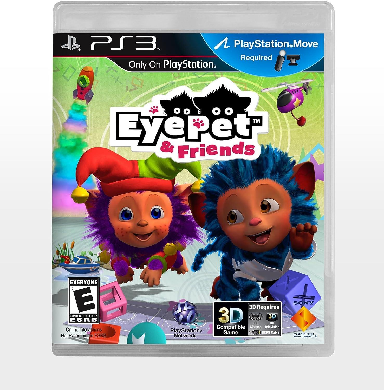 Sony EyePet & Friends, PS3 PlayStation 3 Inglés vídeo - Juego (PS3, PlayStation 3, Niños, Modo multijugador, E (para todos)): Amazon.es: Videojuegos