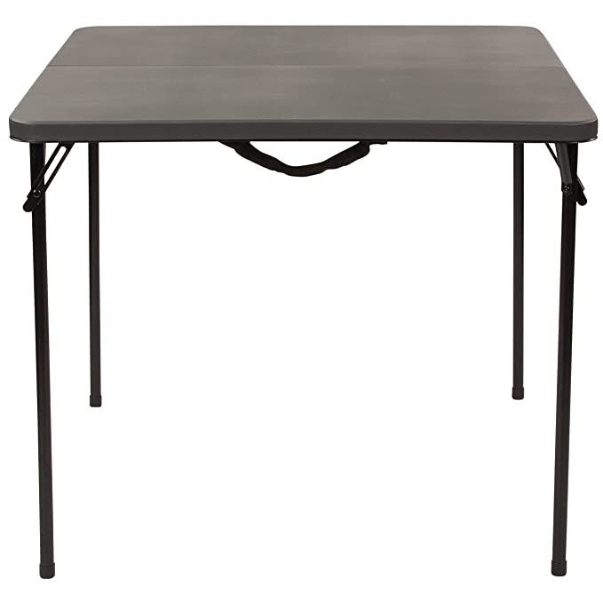 Amazon.com: flash furniture dad-lf-86-dg-gg gris 34sq mesa ...