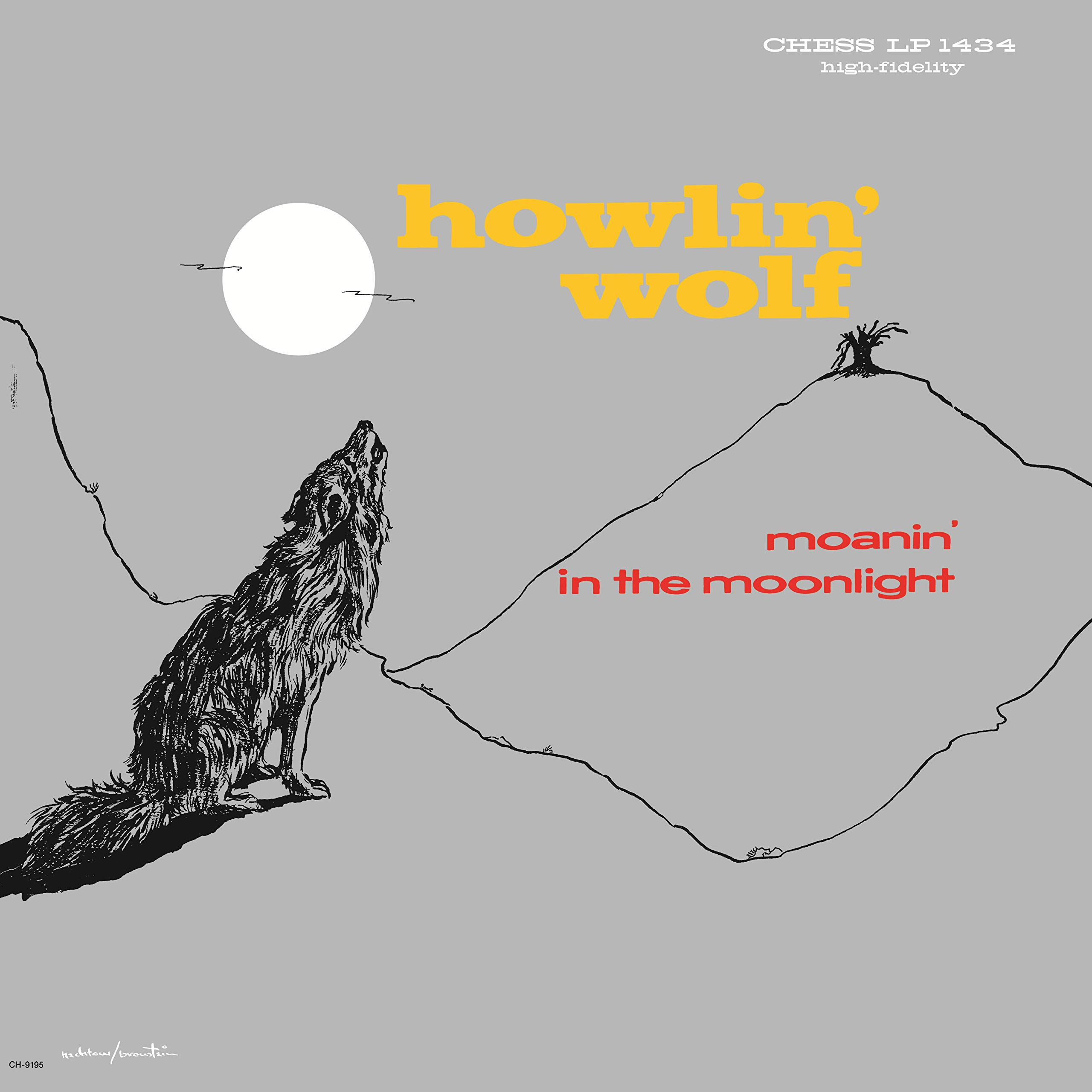 Vinilo : Howlin' Wolf - Moanin' In The Moonlight (LP Vinyl)