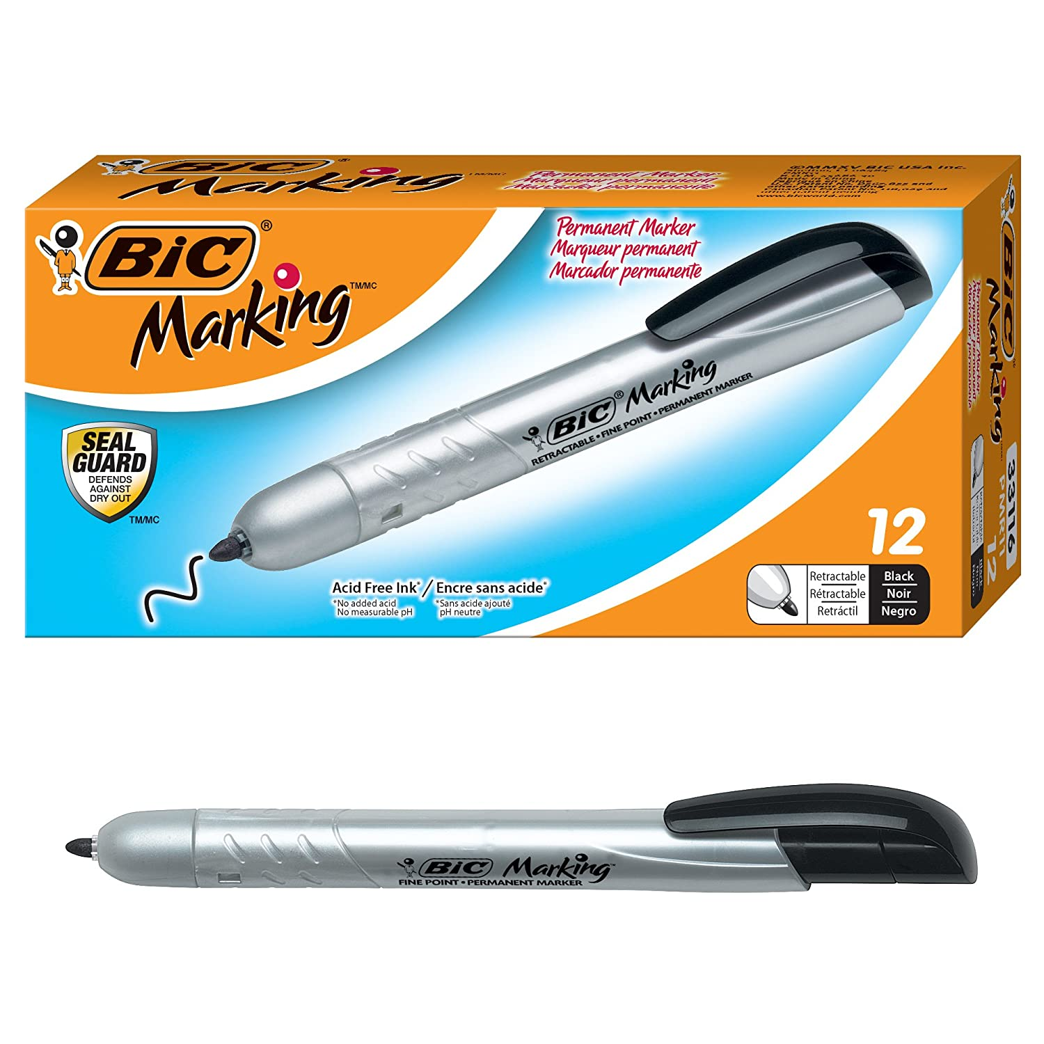 BIC Fine Point Permanent Marke...