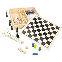 Fou d'bois - 38339.0 - Malette De Jeux - Coffret Jeux Dames/échecs/dadas/mikado
