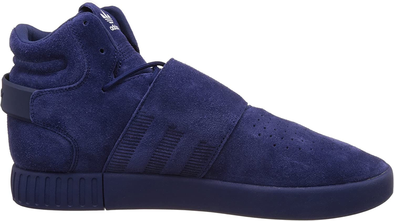 adidas Originals Men's Tubular Invader Strap Shoes Blue