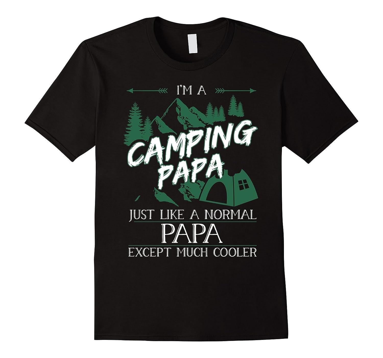 Mens Im a Camping Papa T Shirt Camping Papa Tshirt-TH