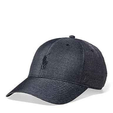 Ralph Lauren Polo Men`s Baseline Performance Cap (Grey 0a0d45e4c934