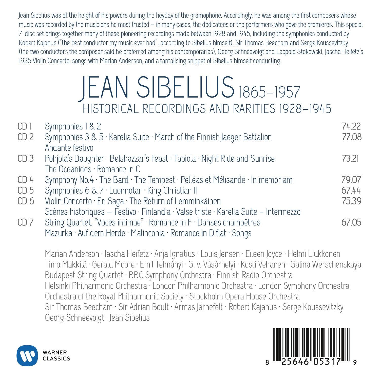 The Jean Sibelius Edition 150th Anniversary The Jean Sibelius