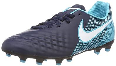 Nike JR Magista Ola II FG, Chaussures de Football Mixte Enfant, Bleu (Obsidienne/Bleu Gamma/Bleu Bleu Glacier/Blanc 414), 37.5 EU