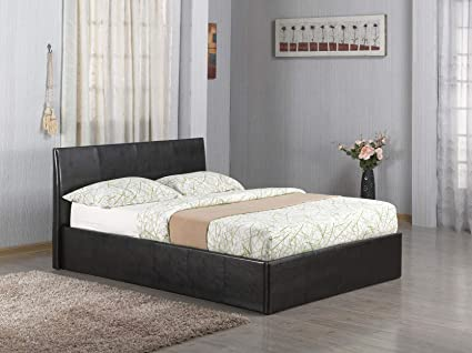 Brilliant Ottoman Gas Lift Up 46 Double Faux Leather Storage Bed In Forskolin Free Trial Chair Design Images Forskolin Free Trialorg