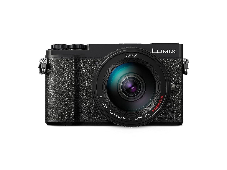 Panasonic Lumix DC-GX9HEG-K - Cámara Digital (20.3 MP, 5184 x 3888 Pixeles, Live Mos, 4K Ultra HD, Pantalla táctil), Color Negro [Versión importada]