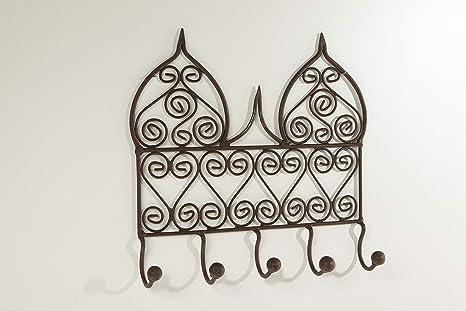 Marrakesch Mohannad - Perchero para Pared o Puerta (32 x 32 ...