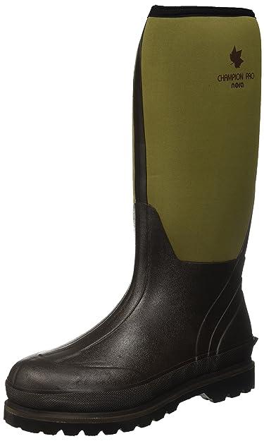 Nora 7962126 CHAMPION PRO Unisex-Erwachsene Gummistiefel Regenstiefel Boots mit Neopren