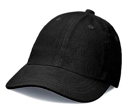 b2ceffe08b580 City Threads Baby Solid Baseball Hat Sun Protection SPF Beach Summer -  Black - S(