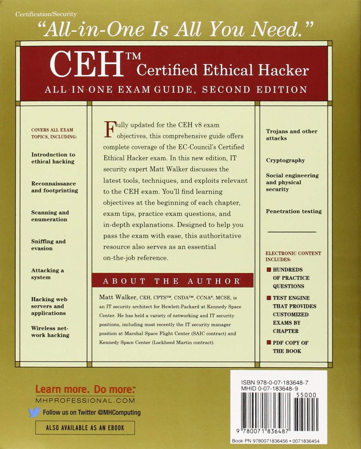 Buy ceh certified ethical hacker all in one exam guide second buy ceh certified ethical hacker all in one exam guide second edition book online at low prices in india ceh certified ethical hacker all in one exam xflitez Image collections