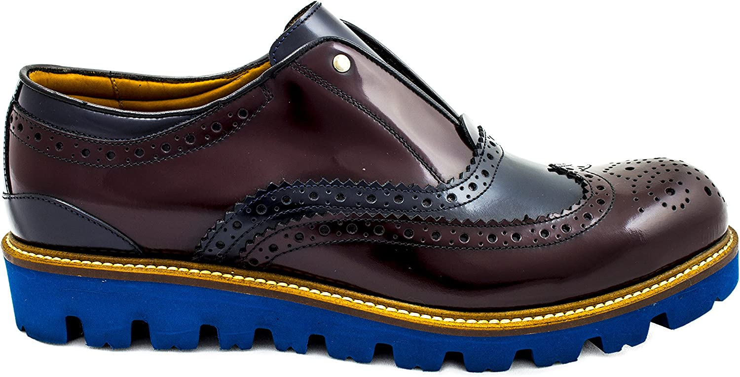 Oxford brogues without laces