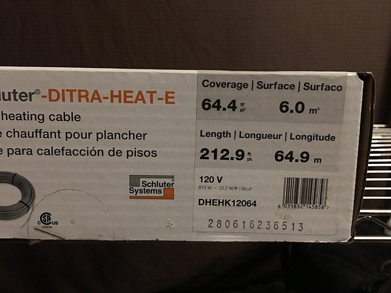 Ditra Heat V Wiring Diagram on