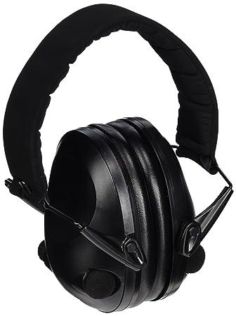 Mil-Tec Outdoor Products - Auriculares para protección acústica Activos, Color Negro