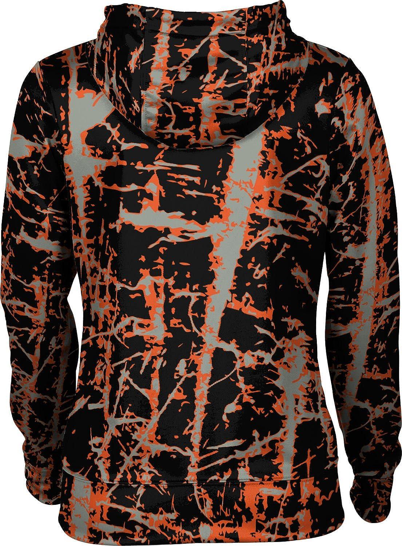 School Spirit Sweatshirt Distressed ProSphere University of The Pacific Girls Zipper Hoodie