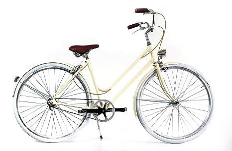 c68541a19d BYCLY Riviera 3V - City Bike Donna con Cambio al mozzo, con Telaio in  Acciaio
