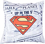 Capa de Almofada Dc Superman Logo Urban Amarelo Poliéster
