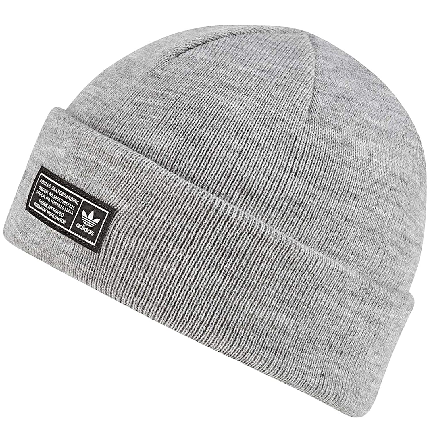 43f4f497d adidas Men's The The Joe Beanie Hat, Grey/Brgrin, One Size: Amazon ...
